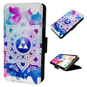 Zelda Mandala -  Flip Phone Case Wallet Cover - Fits Iphones & Samsung