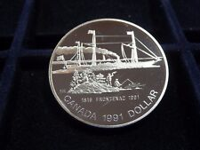 1816-1991 FRONTENAC STERLING SILVER $1 DOLLAR COIN