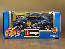 [PI3-50]BBURAGO BURAGO 1/43 STREET FIRE VOLKSWAGEN NEW BEETLE N.1 PAGID ADAC NIB