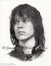 Julian Casablancas Portrait Giclee & Iris Art Print by Artist Willie Jones Jr.