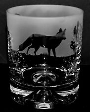 More details for fox frieze boxed 30cl glass whisky tumbler