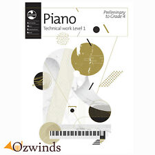 AMEB Piano Series 18 Technical Work Level 1 2018