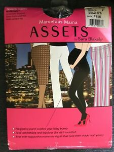 New Assets Marvelous Mama Maternity Terrific Tights Black sz B