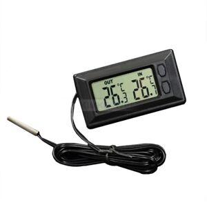 Neu LCD Innen/Außen Auto Thermometer ℃ / ℉ Umschaltbar