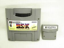 8M MEMORY PACK Satellaview with BS-X 6182 Super Famicom Cartridge Only sfc
