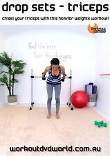 Strength Training EXERCISE DVD - Barlates Body Blitz DROP SETS TRICEPS