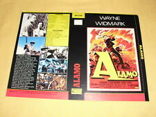 ALAMO jaquette VHS John Wayne Western