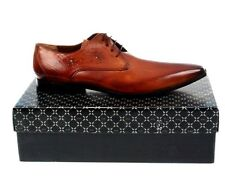 Melvin & Hamilton Mens Shoes Oscar 8 Crust Tan Sz EU52 UK 16 Debry Leather Brown