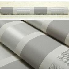 Non-woven Luxury 3d Vertical Stripe TV Livingroom Home Decor Wall Roll Paper