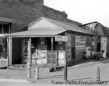 J. Martin's Pool Hall, Steele, Missouri - 1938 - Historic Photo Print