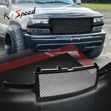 BLACK MESH FRONT BUMPER ABS GRILLE/GRILL GUARD FOR 99-06 CHEVY SILVERADO/TAHOE