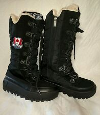 Pajar Women's Greenland Winter Snow Boots -Black  US  7.5  (38)EUR Fits Small