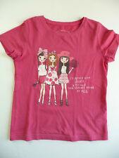 "TOM TAILOR T-SHIRT IMPRIMÉ ""COPINES"" 6 ANS  / 7 ANS 116 - 122"