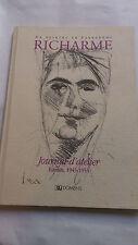 Richarme, Journal d'atelier (Extraits, 1945-1955) suivi de Parcours d'artiste