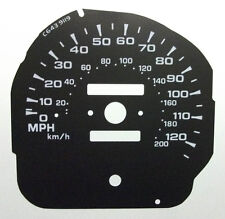 Lockwood Mitsubishi Pajero Mk2 BLACK Dial Conversion Kit C643