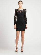 BCBGMAXAZRIA Arlena Lace Dress Size:6 USA NEW
