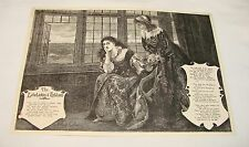 1894 magazine engraving+poem ~ THE LOWLANDS O'HOLLAND