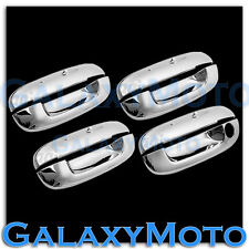 02-07 Cadilla CTS+00-05 Cadillac DeVille Chrome 4 Door Handle W/O PSG KH Cover