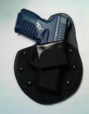 IWB Conceal MTO holster for Springfield Armory XDS 45 auto or 9mm leather kydex