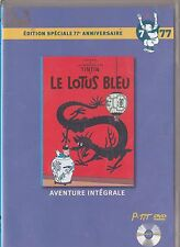 DVD TINTIN LE LOTUS BLEU EDITION SPECIALE 77° ANNIVERSAIRE N° 7  MINI DVD