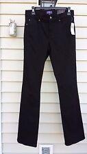 NYDJ Stretch Mini Boot Jeans Black TM32BLKK59DT Size 0 $110