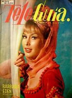 TV Guide 1967 I Dream Of Jeannie Barbara Eden International Tele Guia VG/EX COA