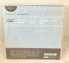 Creative Memories Lullaby Paper Album Kit New Paper Stickers Baby