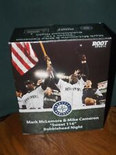 "MARK MCLEMORE & MIKE CAMERON BOBBLEHEAD ""SWEET 116"" SGA, 10TH ANNIVERSARY, 2011"