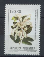 Flowers Argentine Stamps