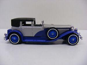 Matchbox Models Of Yesteryear 1930 Duesenberg Model J