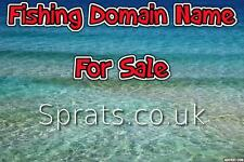 Rare Fishing Domain Name  - Sprats.co.uk  | Fishmonger | Trawler | Whitebait