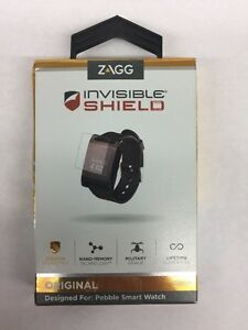 Zagg Invisible Screen Shield For Pebble Smart Watch