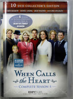 When Calls The Heart Complete Season 5, Brand NEW 10 DVD Collector's Edition