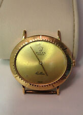 Rolex 18k Yellow Gold Vintage Cellini 4083