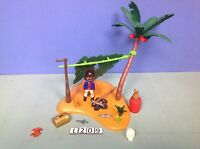 (L209) playmobil set pirate ile robinson crusoé ref 5138 5134 5135