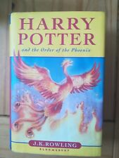 Harry Potter and the Order of the Phoenix  J K ROWLING 1st EDITION