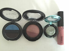 Mac Make Up - Selling as a pack - 3 x Eye Shadow +  1 x Lip Glass - Unbox - New
