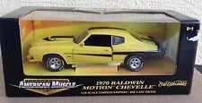 1970 Chevelle SS 454 Baldwin Motion 1:18 big diecast American Muscle ERTL car