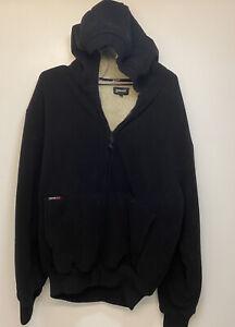 Schott  Mens XL Black Padded Fleece