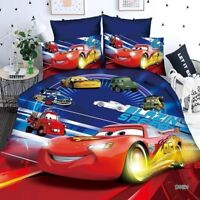 Home Textiles Cars boys Disney cartoon style bedding set cover bed Kids 2019 New
