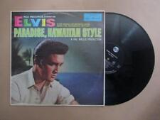Elvis Presley, Paradise Hawaiian Style, mono, black label, rare Aust pressing