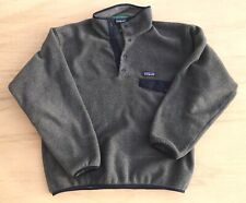 Patagonia Fleece Worn Wear Synchilla Snap T Small Made In Nicaragua