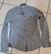 KAPORAL - Très jolie chemise gris bleu - Taille 14 ans - EXCELLENT ÉTAT