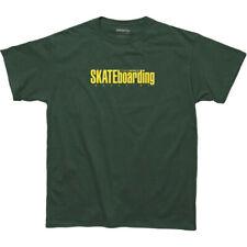 TRANSWORLD SKATEBOARDING Men's S/S T-Shirt CLASSIC MAGAZINE - GRN - Medium - NWT