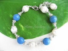 Silver Plated Natural Stone Fine Bracelets