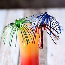 Palm Tree Cocktail Sticks - Set of 24 - Foil Drink Decorations
