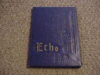 1948 Echo / Osnaburg Township High School Yearbook / East Canton Ohio / Free SH