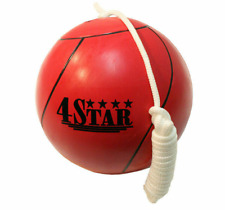 Official Tether Ball Red Rope Included Outdoor Sports Playground Tetherball