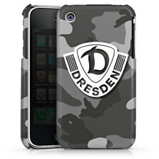 Apple iPhone 3gs premium case cover-Dresden camuflaje gris-dinamo dresde