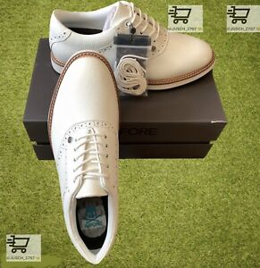 G/Fore G4 Limited Gallivanter Golf Shoe Sneaker ⛳️ US 11 ⛳️ Khaki Brown White